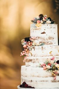 Wedding cake naturelle